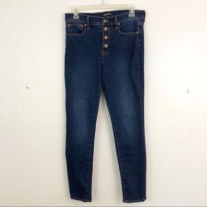 J. Crew High-Rise Skinny Jeans (A4)